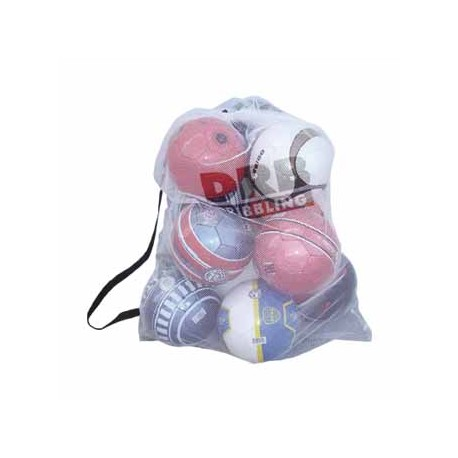 Malla traslada balones